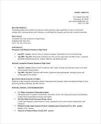 Academic Resume Template Beauteous Academic Resume Template 48 Free Word PDF Document Downloads