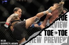 UFC 259: Amanda Nunes vs. Megan Anderson Toe-to-Toe Preview - A complete  breakdown - Bloody Elbow