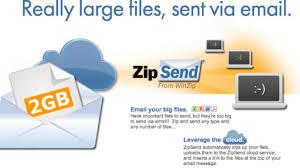 Sending Large Files Via Email Winzips Zipsend Transfers Large Files Via Email Zipshare Posts
