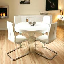 white gloss dining table set tables glamorous furniture round swoop appealing 6 chairs all high t