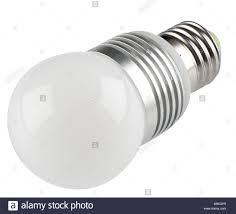 Cut Light Bulb Close Up Cut Out Shot Of An Energy Saving Led Light Bulb