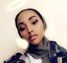 muslim muslim hijab henna hijabi somali makeup contacts beautiful insram look somali outfit