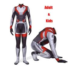 The Realm Wetsuit Size Chart Us 14 26 8 Off High Quality Men Boys The Avengers 4 Endgame Quantum Realm Superhero Cosplay Costume Superhero Zentai Bodysuit Suit Jumpsuits In