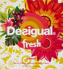 <b>Desigual Fresh Eau de</b> Toilette, 3.4 Fluid Ounce - Buy Online in ...