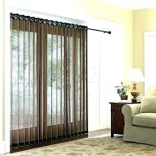 curtains sliding glass door for doors in kitchen window treatment treatments best
