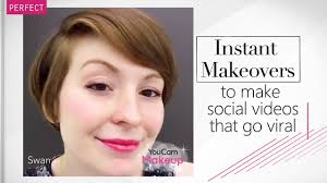 youcam makeup live video recording feature for real time makeup effects perfect corp you