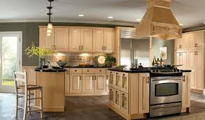 kitchen paint colors with light oak cabinets ideas