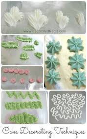 Cake Decorating Techniques Basics Of Piped Cake Decorations