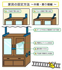 地震 対策 家具