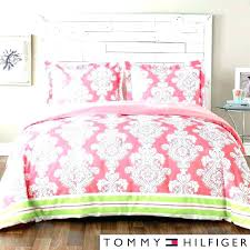 tommy hilfiger comforter sets red paisley full