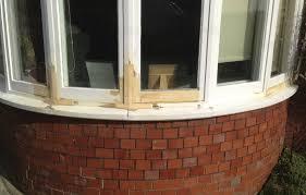 wooden window frame repair