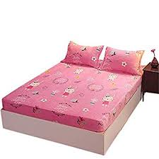 KFZ Fitted Sheet Bedsheet Protector Without Pillowcases for <b>Single</b> ...