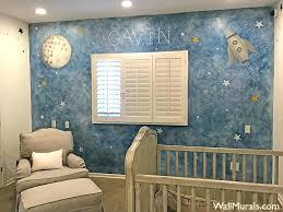 baby nursery baby nursery murals room space mural painting bedroom wall uk