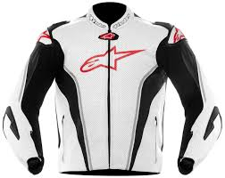 alpinestars gp tech leather jacket clothing jackets motorcycle white black red 100 authentic