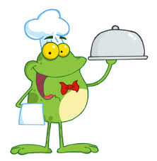 Image result for frog eating clipart