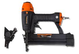 wen 61741 4 in 1 18 gauge pneumatic flooring nailer and stapler with case com