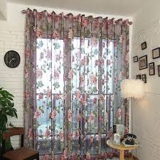Purple Curtains For Living Room Online Buy Wholesale Purple Sheer Curtains From China Purple Sheer