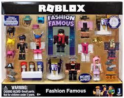 Roblox Fashion Designer Roblox Fashion Famous Figure 4 Pack Set
