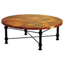 copper coffee tables from mexico