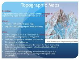 Topographic Maps Definition Ppt Download Topographical