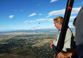 hot air ballooning in boulder valley