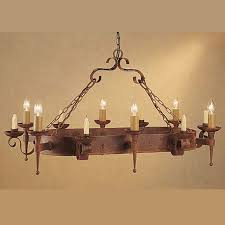 meval gothic rectangular ceiling light chandelier dual electric candle height 500mm width 610mm length 1010mm