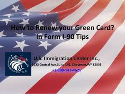 i 145 immigration form how to renew your green card