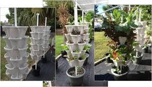 diy vertical hydroponic 4 tower kit hydroponic gardening kits