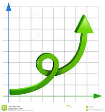 Crazy Chart Stock Illustration Illustration Of Success