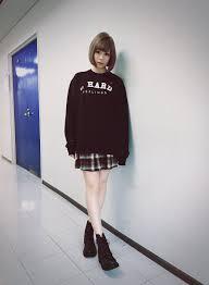 きゃりーぱみゅぱみゅ On Twitter 私服全身unif 髪型は人造人間18号
