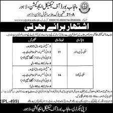 security supervisor and security guard jobs at punjab technical    pbte nw