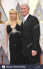 Hollywood, California. 26th Feb, 2017. Burt Dalton and guest ...