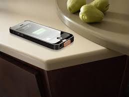 dupont corian countertops an ingenious way to charge your gadget wirelessly