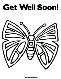 Small Picture Get Well Soon Coloring Pages chuckbuttcom