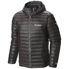 columbia men s outdry ex gold down hooded jacket