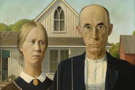 grant wood american gothic 1930 iowa home one of the most recognizable