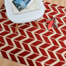 arlo chevron rugs ar in red  free uk delivery  the rug seller