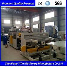 wpc wood plastic composite door panel and wall board making machine manufacturer