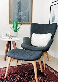 comfortable reading chair. Comfy Reading Chair For Adults: Alexandra Evjen Nursery Reveal | Modern Nurseries, Comfortable