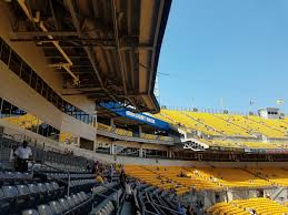 Steeler Game Seating Chart Pittsburgh Steelers Seating Guide Heinz Field