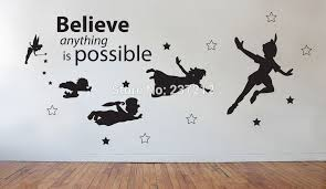 incredible design ideas peter pan wall art best interior very attractive with beautiful stylish nursery large