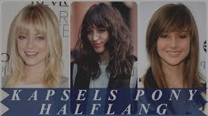 Dames Kapsels Halflang Haar
