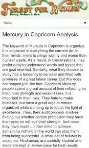 Aries Birth Chart Analysis Mercury In Capricorn My Astrological Birth Chart Saturn