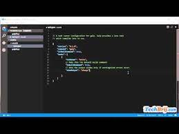 visual studio code tasks and
