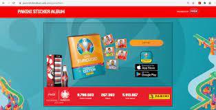 ฟุตบอลยูโร 2020] ชวนสะสม UEFA EURO 2020 Panini Sticker Album  สติ๊กเกอร์ออนไลน์ สะสมฟรี - Pantip