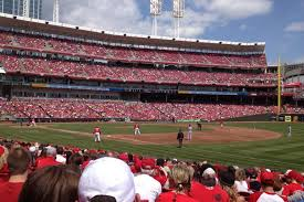 Cincinnati Reds Baseball Reds Stadium Great American