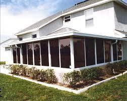 patio into a sunroom or florida room
