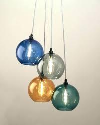 colorful pendant lights chandeliers colored glass chandelier drops decorative multi color