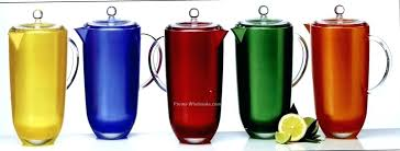 plastic water pitcher with lid oz silky shade colorful cased acrylic pitchers with lid plastic water plastic water pitcher with lid high quality glass
