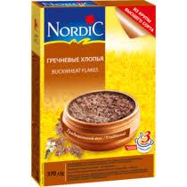 <b>Хлопья Nordic гречневые 370</b> г купить с доставкой по выгодной ...